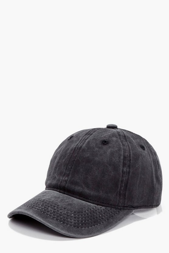 Megan Washed Denim Baseball Cap