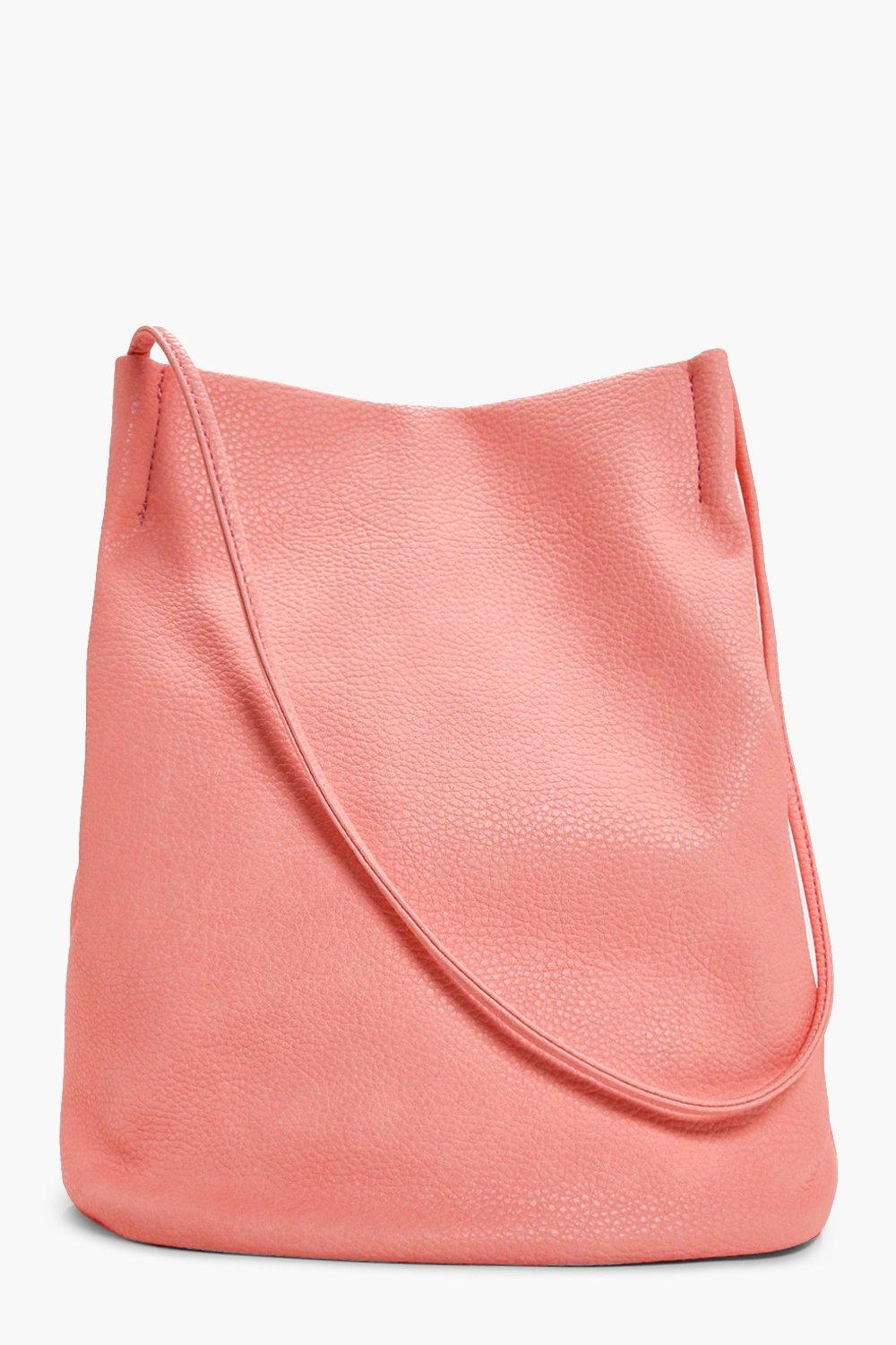 Duffle Bag Cross Body - peach - Leila Duffle Bag C