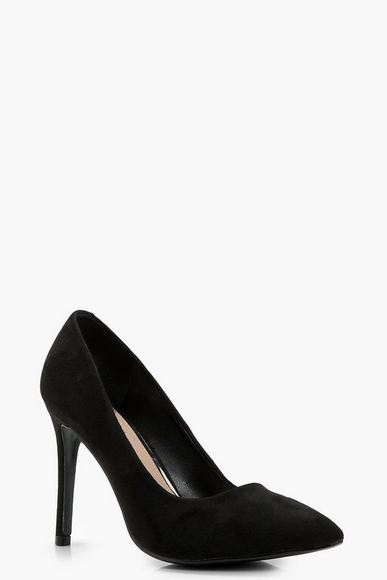 Paige Pointed Toe Court Shoe