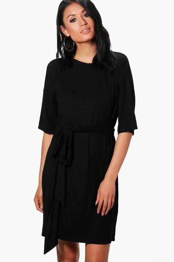 Becky Tie Waist Shift Dress