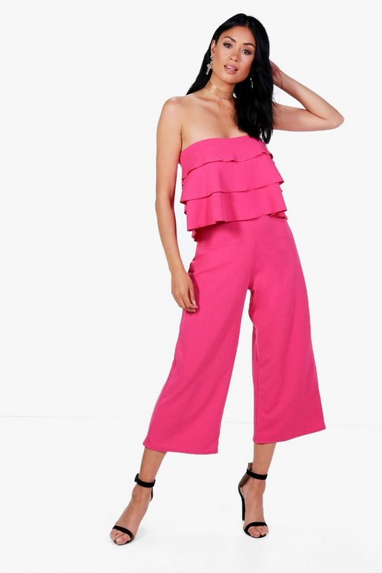 Frill Bandeau Top & Culotte Co-ord