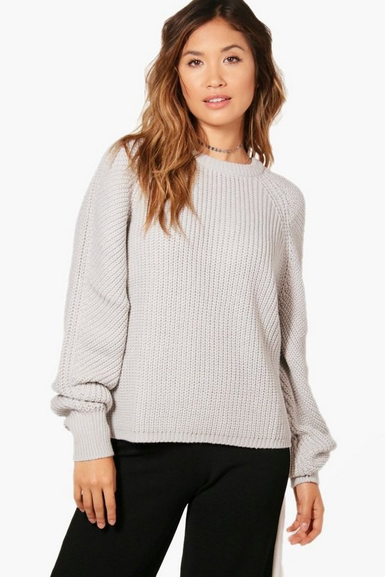 Eliza Balloon Sleeve Jumper