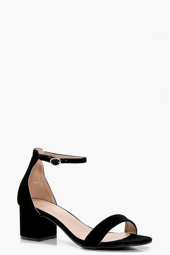 Bethany Low Block Heels