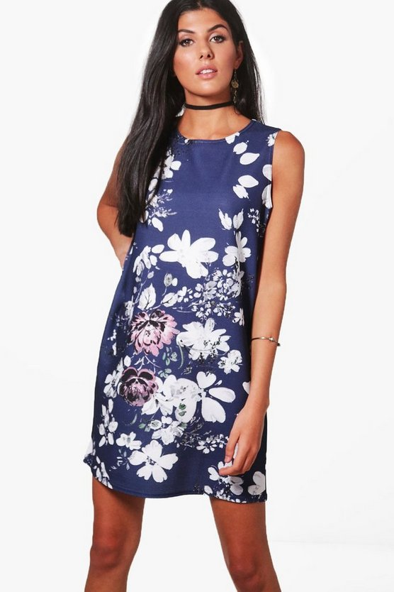 Molly Sleeveless Shift Dress