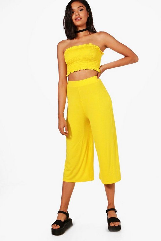 Zada Shirred Bandeau & Culotte Co-ord