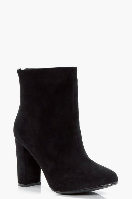 Holly Heeled Ankle Sock Boot