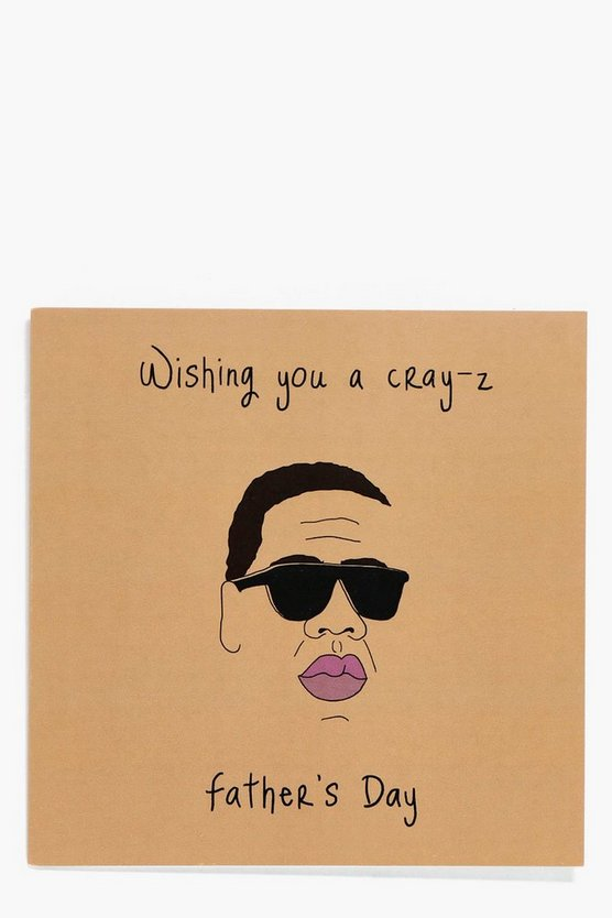 Fathers Day Card - Jay Z