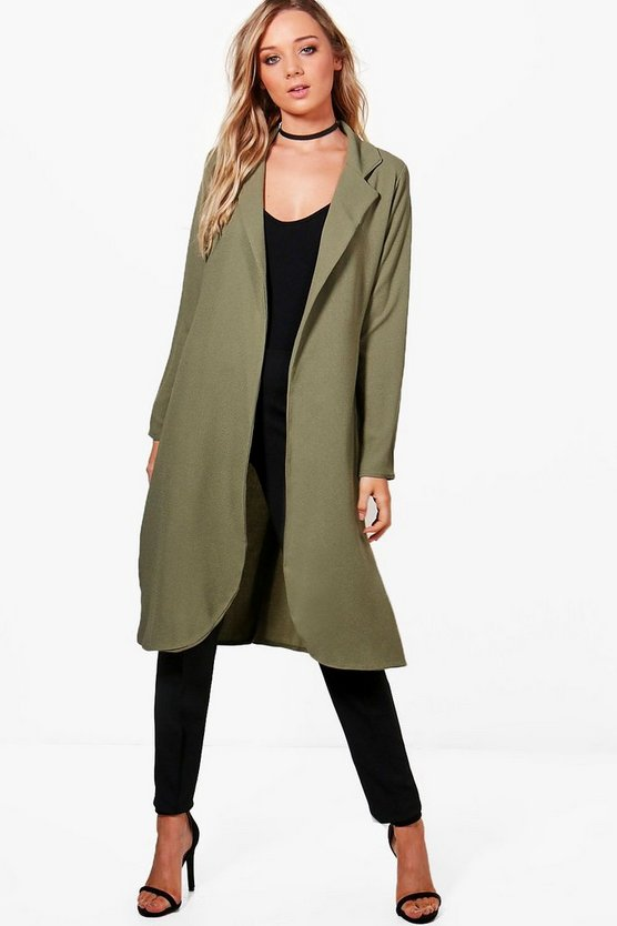 Stephanie Tailored Woven Duster