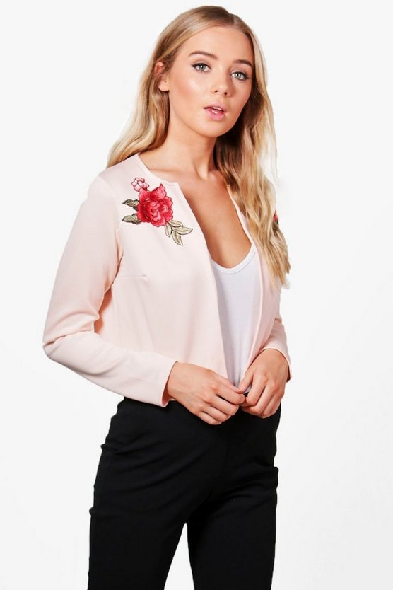 Ellie Edge To Edge Embroidered Jacket
