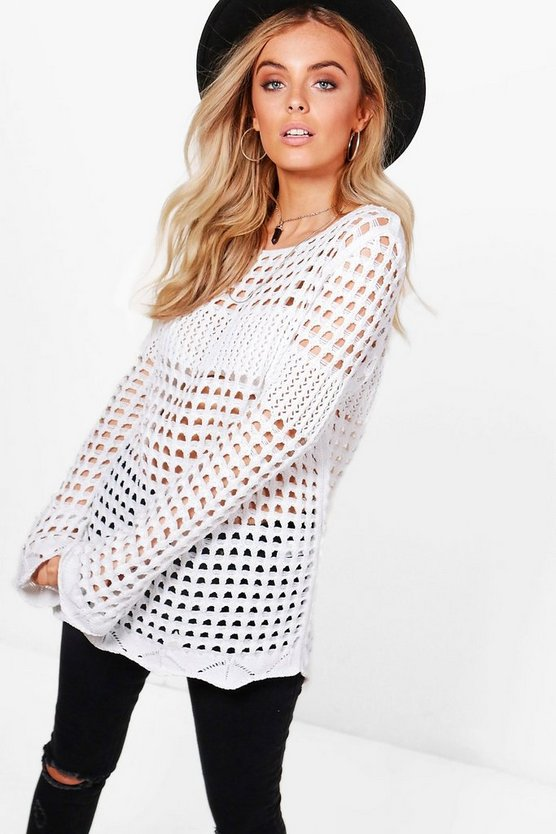 Brooke Bell Sleeve Crochet Tunic
