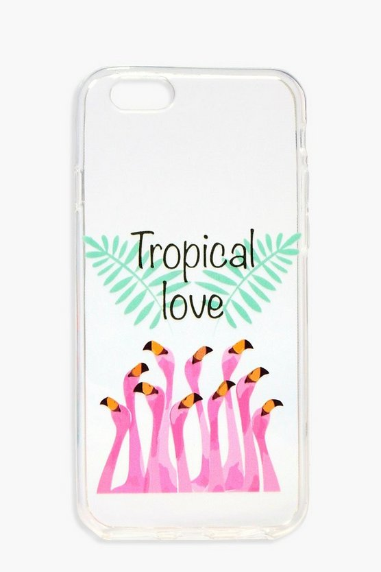 "Hülle für iPhone 6 mit ""Tropical Love""-Motiv"