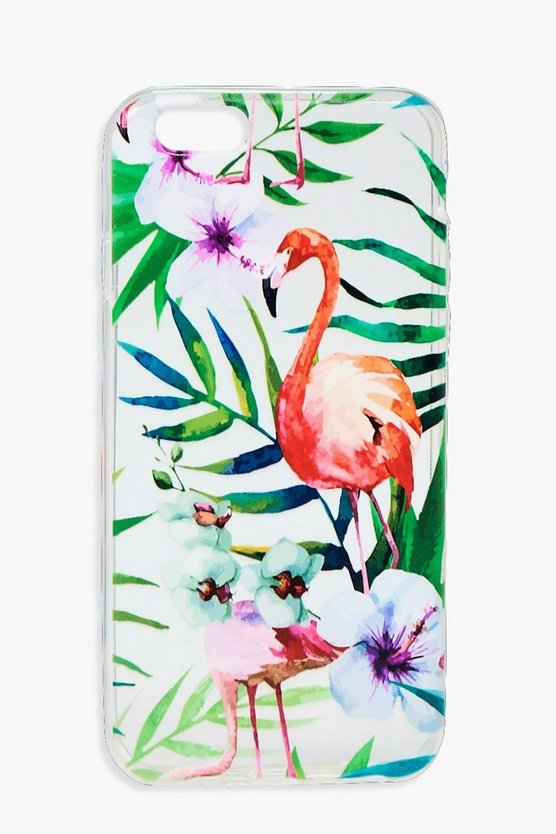 Tropical Flamingo iPhone 6 Case