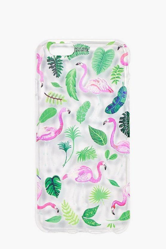 Flamingo & Leaf iPhone 6 Case