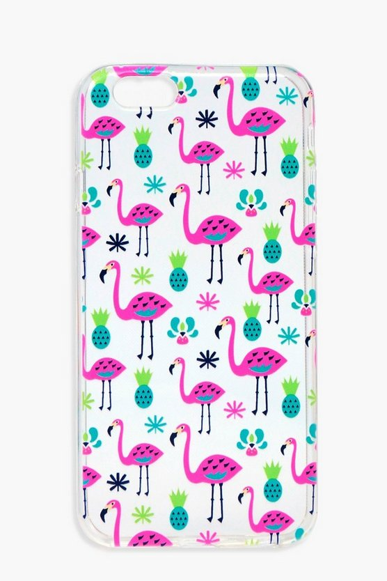Flamingo And Cactus iPhone 6 Case