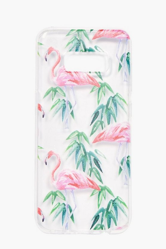 Samsung S8 Flamingo Phone Case