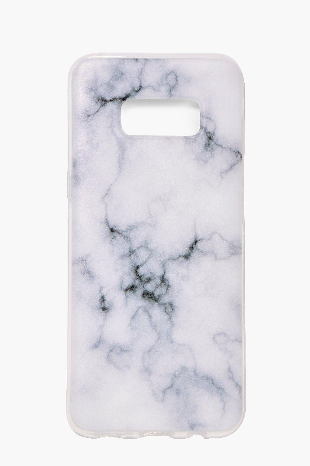 Galaxy S8 Marble Phone Case - white - Samsung Gala