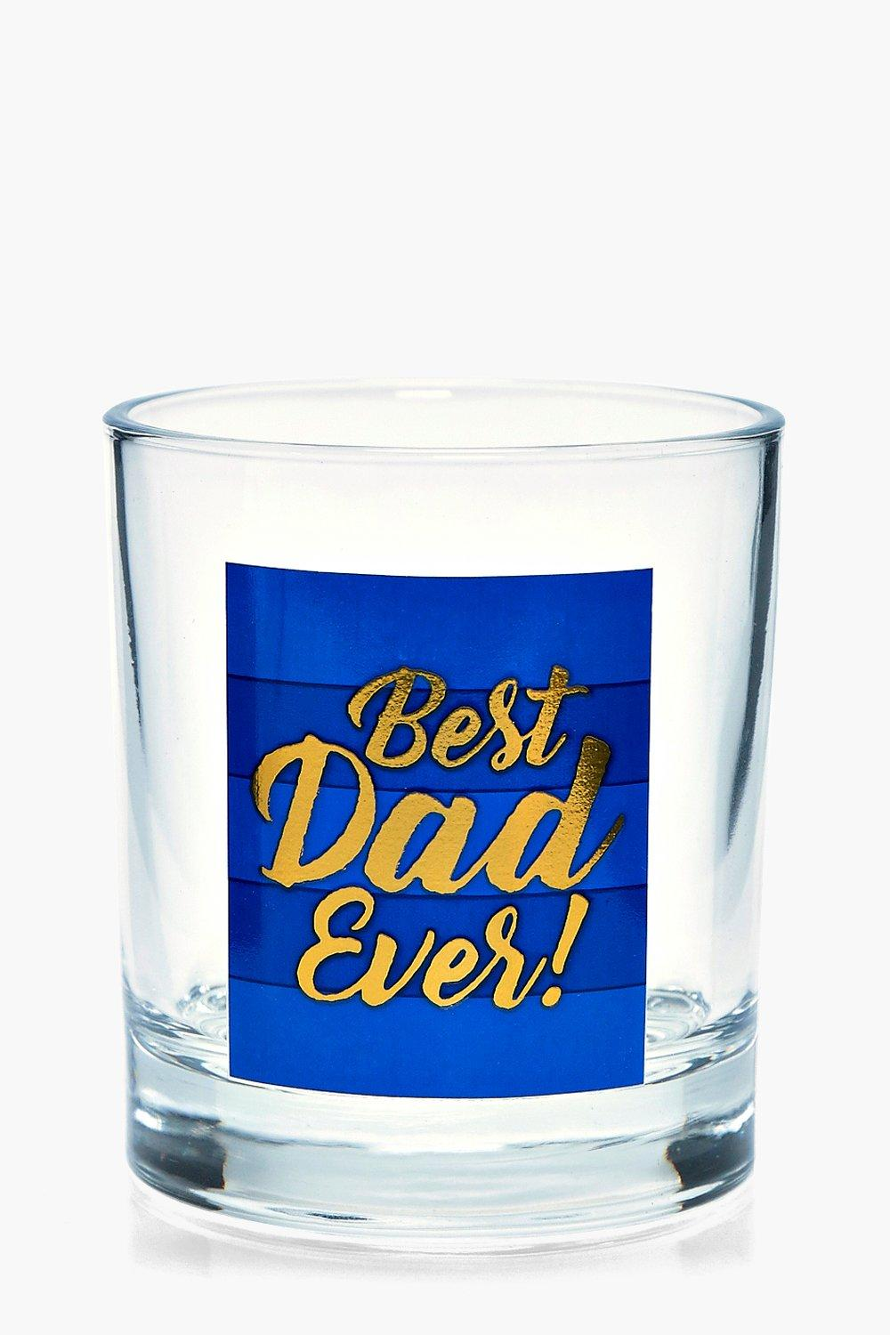 Dad Whiskey Glass - blue - Best Dad Whiskey Glass