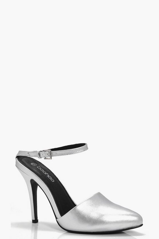 Harriet Pointed Toe Stiletto Mule