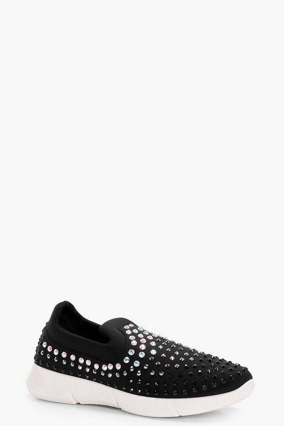 Alice Diamante Slip on Trainer