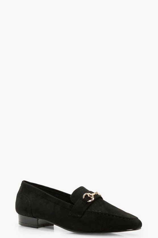 Paige Metal Trim Loafer