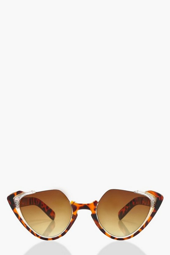 Este Statement Frame Cat Eye Sunglasses