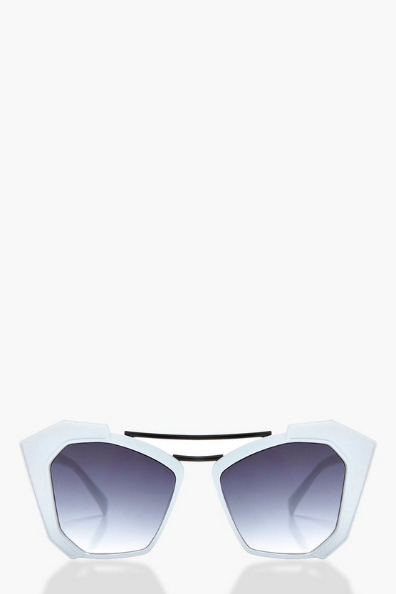 Rachel Double Bar Statement Sunglasses
