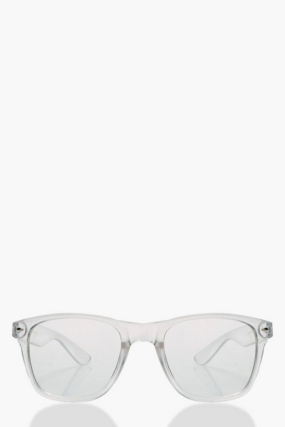 Dulcie Clear Frame Square Fashion Glasses