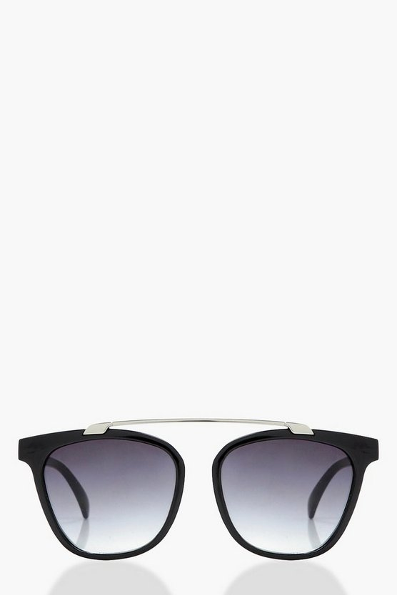Hanna Brow Bar Square Sunglasses
