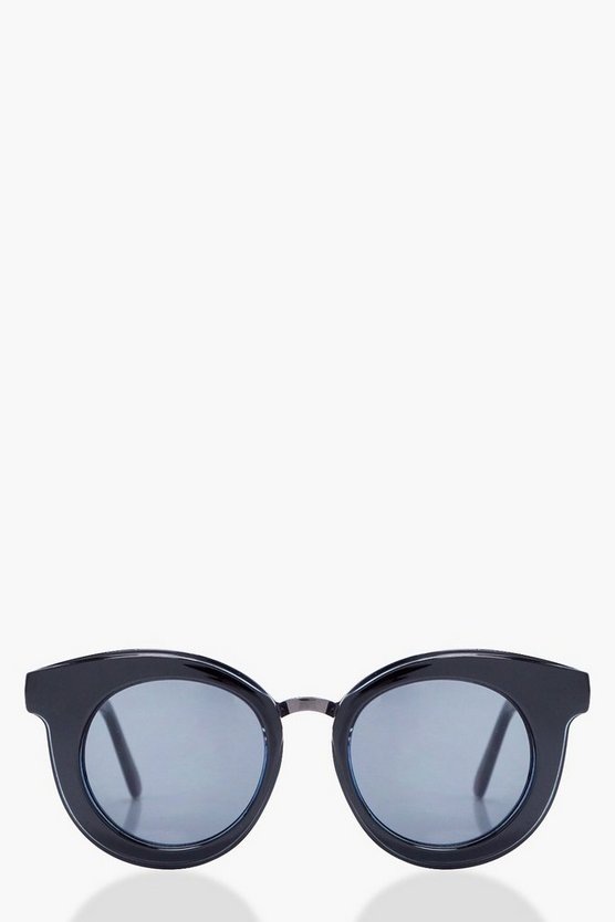 Lydia Thick Feature Frame Sunglasses