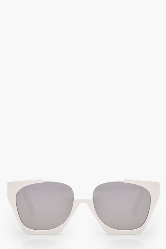 Elena Cut Out Frame Sunglasses