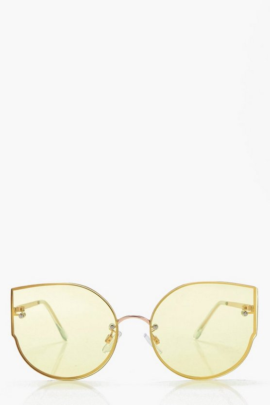 Eve Coloured Cat Eye Sunglasses