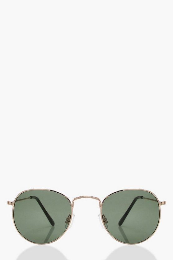 India Retro Small Lens Aviator Sunglasses