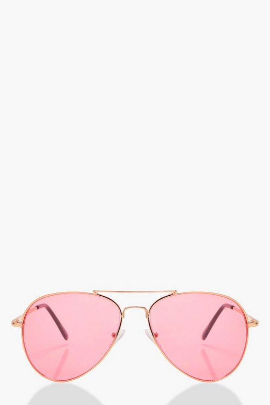 Nancy Pink Tint Aviator