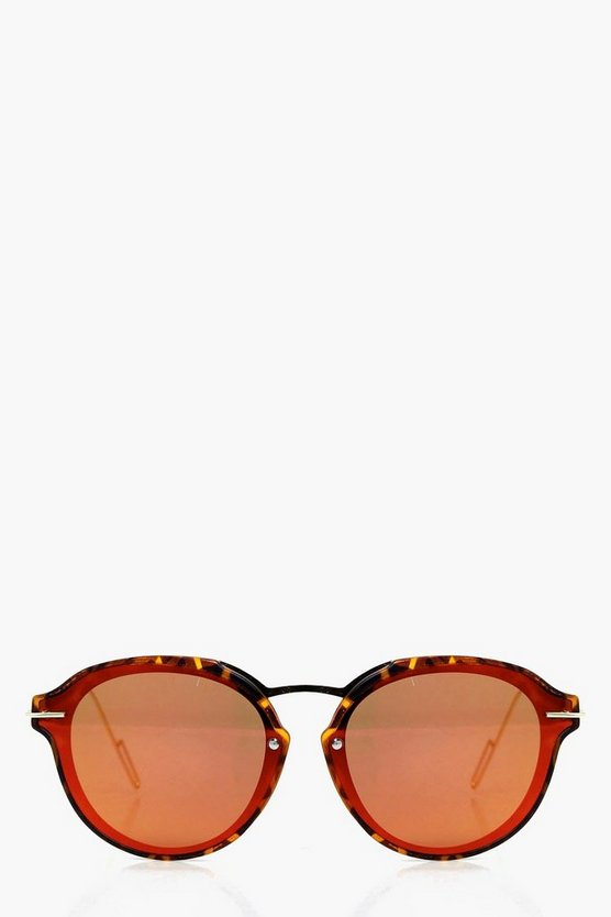 Aimee Metal Trim Sunglasses