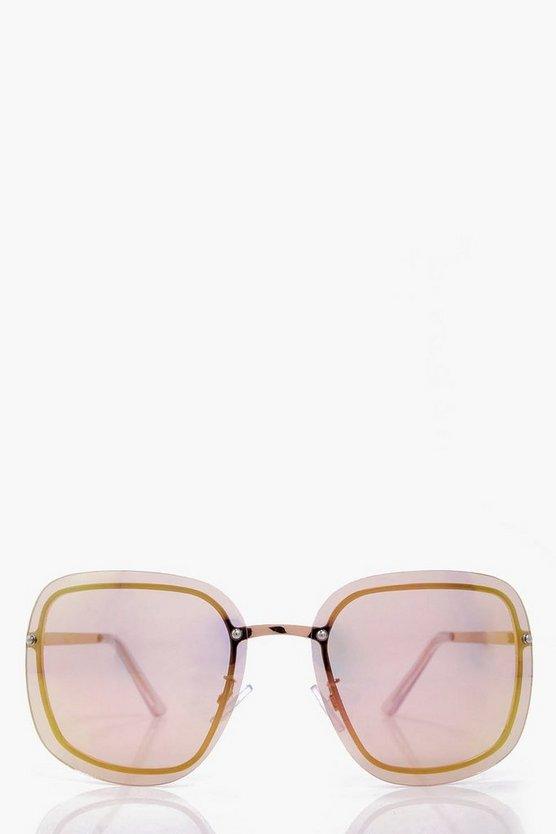 Alicia Pastel Ombre Oversized Sunglasses
