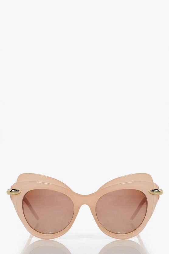 Ivy Double Layer Cat Eye Sunglasses