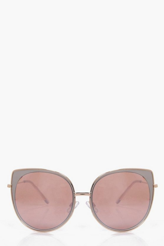 Kerry Cat Eye Rose Sunglasses