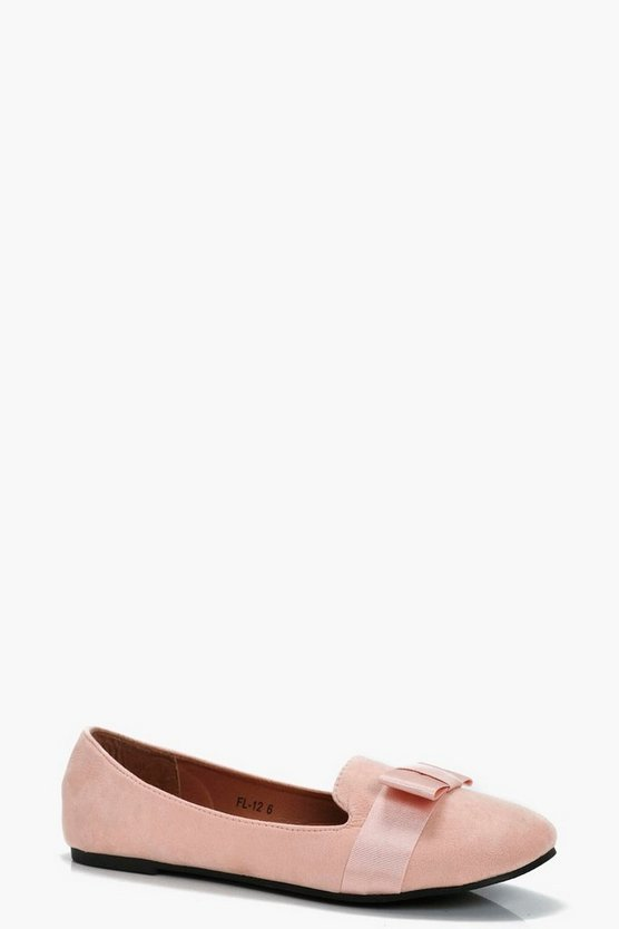 Jenny Bow Detail Slipper Ballets