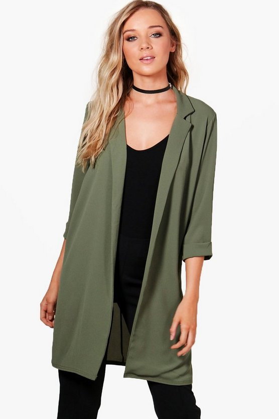 Anna Collared Tailored Duster