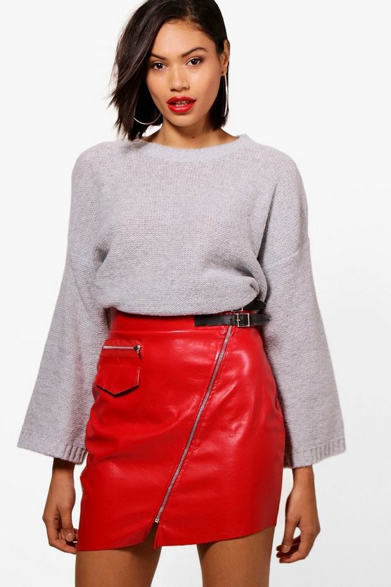Lucy Boxy Oversized Cropped Jumper