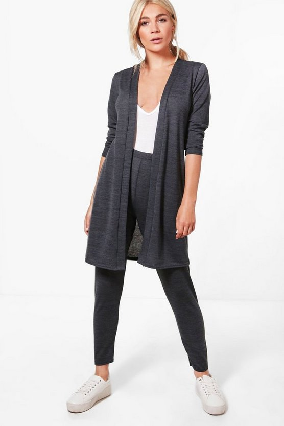 Megan Cardigan & Leggings Knitted Lounge Set