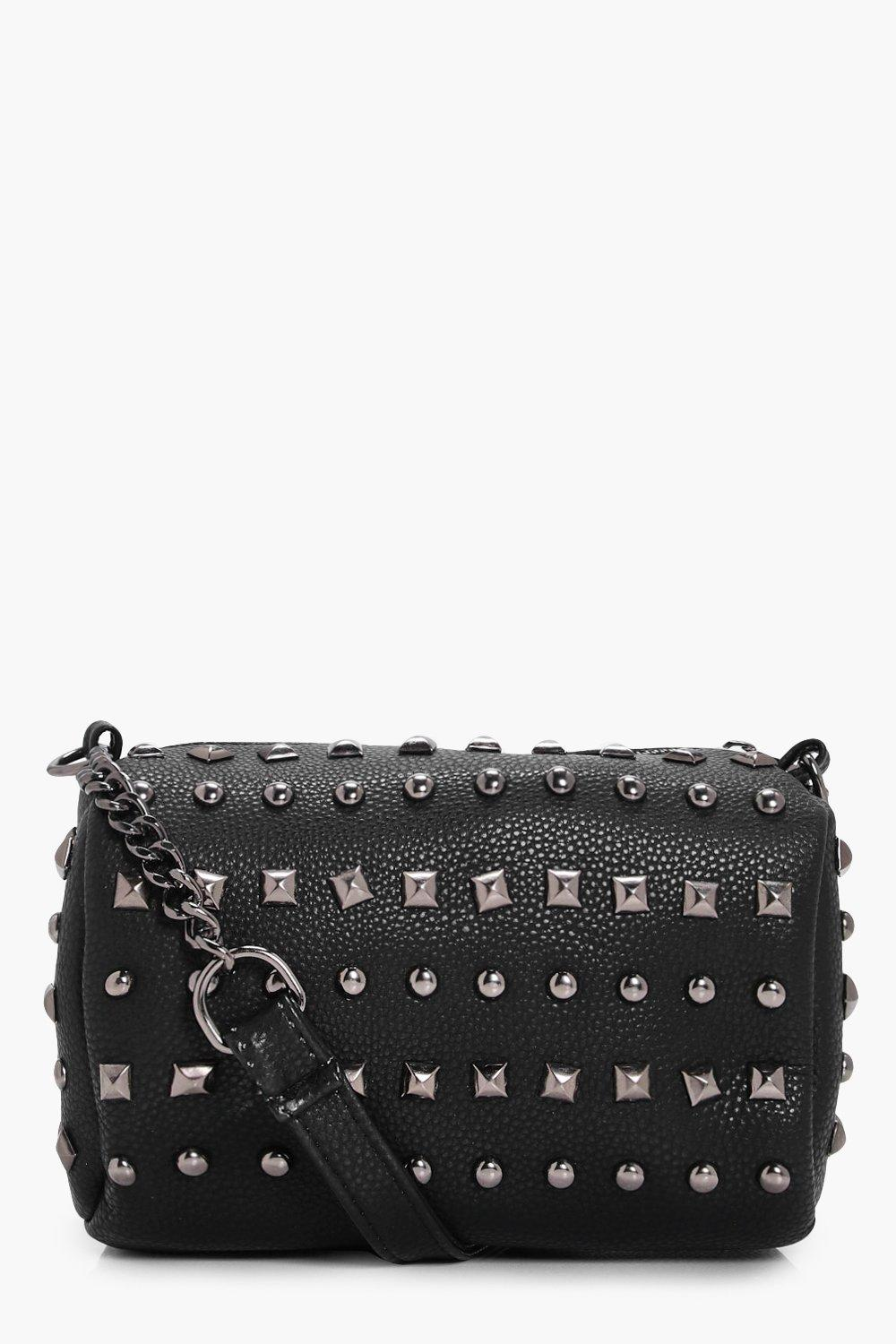 Multi Stud Cross Body - black - Josie Multi Stud C