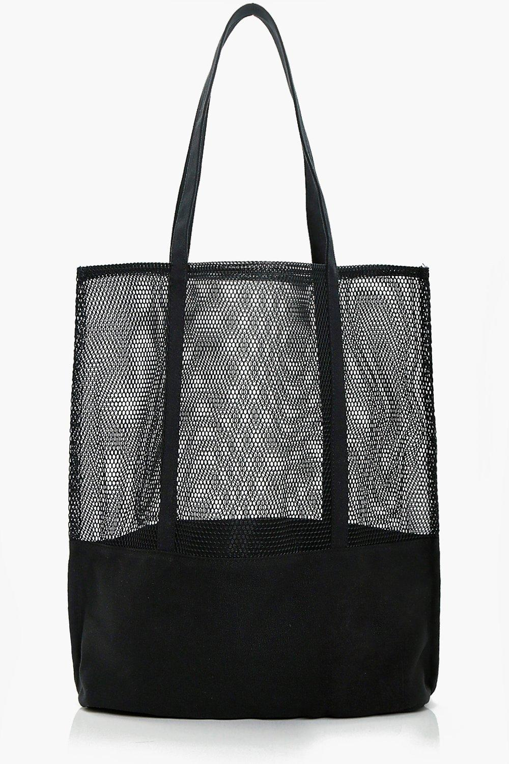 Sports Mesh Shopper - black - Hannah Sports Mesh S