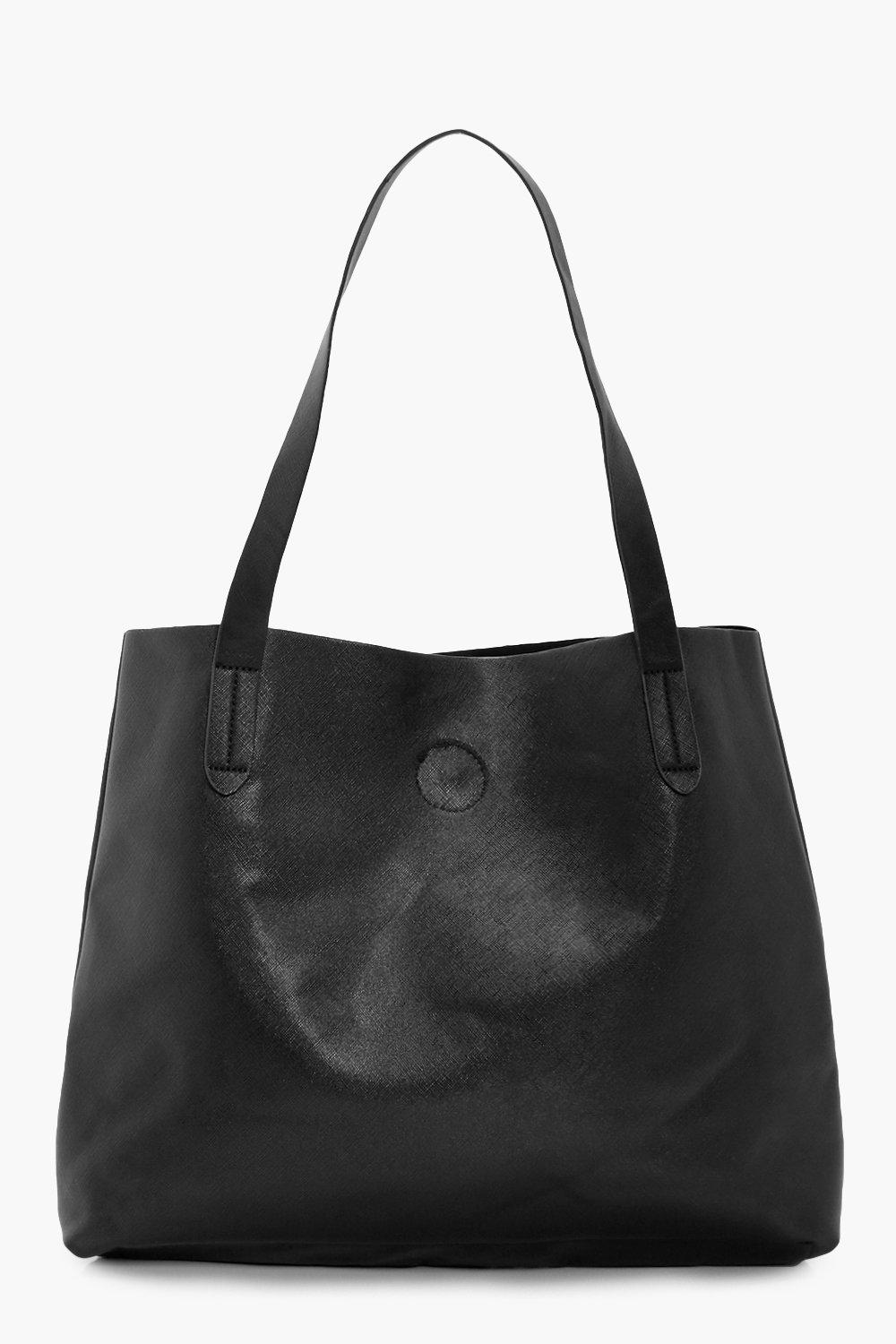 Crosshatch Popper Shopper - black - Hettie Crossha