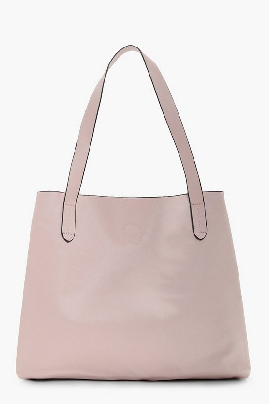Hettie Crosshatch Popper Shopper