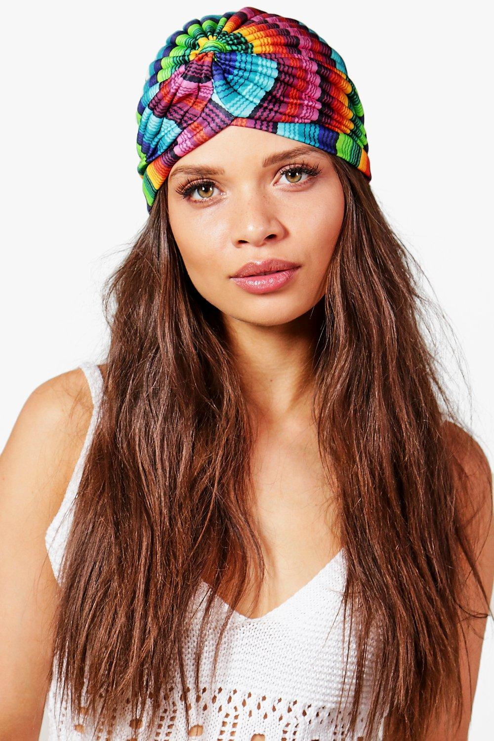 Multi Coloured Turban - multi - Kerry Multi Colour