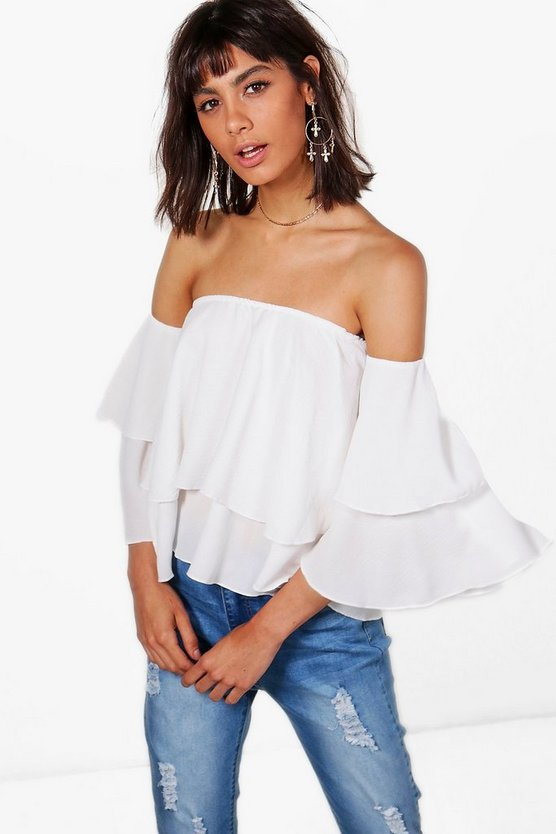 Freya Off The Shoulder Frill Top