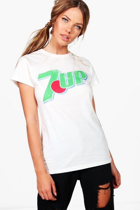 Beth 7 Up Oversized Tee