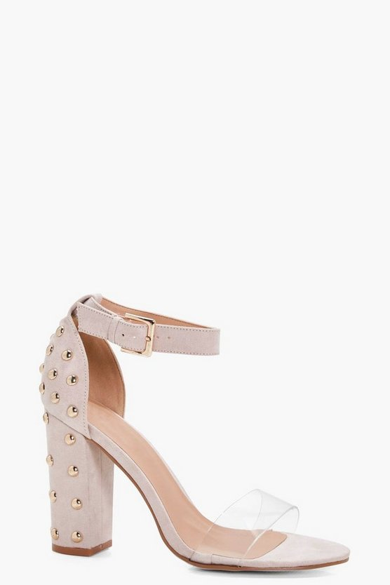 Alice Stud Detail Heel 2 Parts