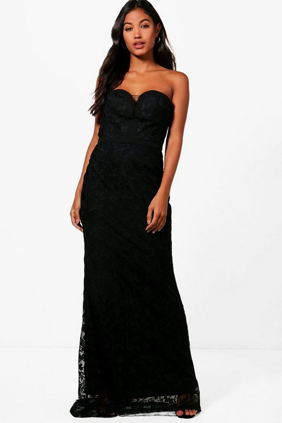 Boutique Jess Embroidered Maxi Dress